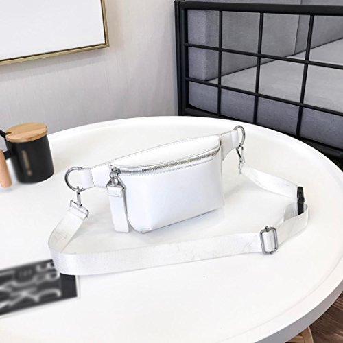 Bag Flip Lightweight Purse White Small Zipper Cover TOOPOOT Crossbody Pure Phone Color Bag Cell 7wqdBBt