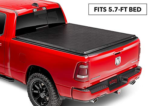 "Extang Express Tonno Roll-up Truck Bed Tonneau Cover | 50421 | fits Dodge Ram (5 ft 7 in) 2019, ""New Body Style"""