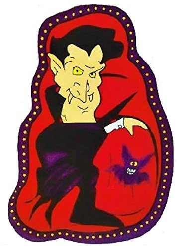 Halloween Characters Serving Dish 2 Pack (Dracula & Frankenstein) ()