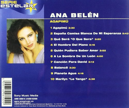 Agapimu: Ana Belen: Amazon.es: CDs y vinilos}