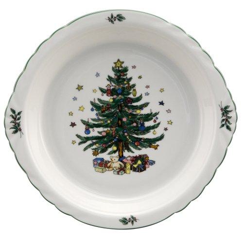 Nikko Christmas Ovenware Pie Plate