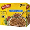 Tasty Bite Madras Lentils, 10oz Pouches, 8 Pouches