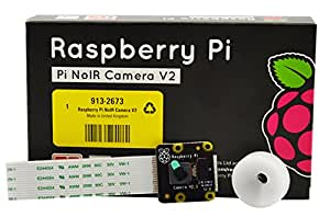 LANDZO Raspberry Pi Camera Module V2 - 8 MP 1080P (RS(Noir Camera Module V2 - 8MP 1080P))