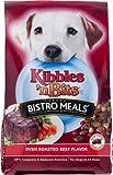 Kibbles 'n Bits Dog Food Bistro Meals Oven Roasted Beef Flavor