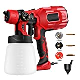 Electric Paint Sprayer Interior Walls Automotive Cleaning Kit Handheld HVLP Painting Spray Gun