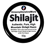 50g Shilajit, Authentic, Pure, High Mountain Shilajit Resin | Amazing Source of Fulvic Acid, Trace Minerals, Boost Energy, Great for Men and Women