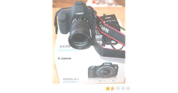 Canon EOS 6D + EF 24-105mm f/4L IS STM Cámara digital, color negro ...