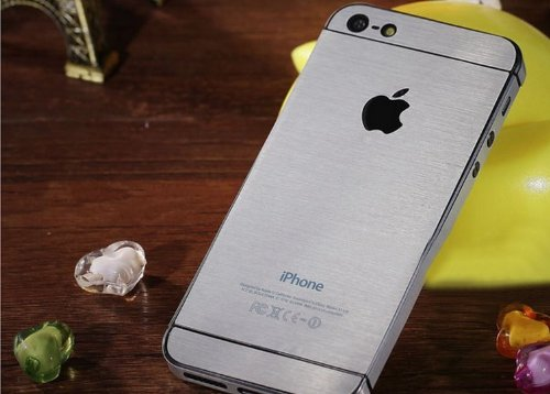 New Arrival Local Tyrants Gold Sticker For Iphone 5 5G  Silver