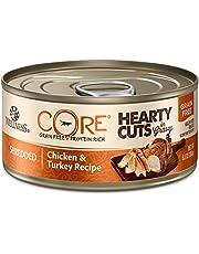 Wellness CORE Hearty Cuts in Gravy Shredded Chicken & Turkey Recipe Canned Cat Food 5.5oz