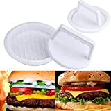 DZT1968 Durable Round shape Patty Press Form odorless Hamburger Mold Maker Round Meat Mince BBQ