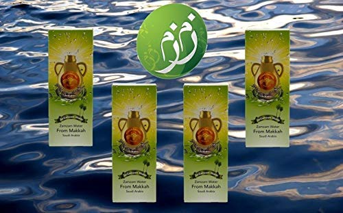 4 Bottles – 16.9 FL。オンスのJar Zamzam水 – からMekkahサウジアラビア –      4  B075FVVNGK