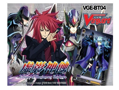 Cardfight Vanguard ENGLISH VGE-BT04 Eclipse of Illusionary Shadows Booster BOX [30 Packs] by Cardfight Vanguard