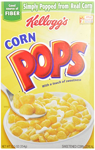 Corn Pops 12.5-Ounce Box(Pack of 8) by Corn Pops