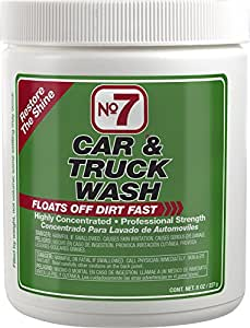 No7 Car & Truck Wash: Concentrated Powder, 8 oz Can