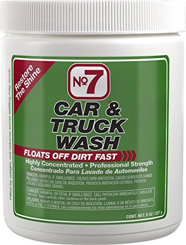 Niteo Products 16140-EACH 8 oz Can No7 Car and Truck Wash: Concentrated Powder ()