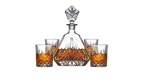 AEDFD Decantador De Whisky Accesorios De Vino para Bebedor ...