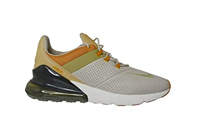 6f8daf11d5 Nike Men's Air Max 270 Premium Gymnastics Shoes, Beige (String  Ochre/Neutral Olive