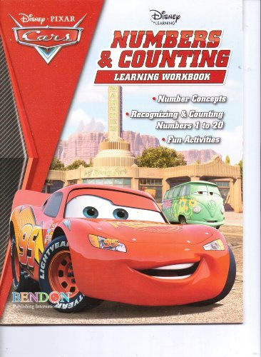 (Disney*Pixar Cars Numbers & Counting Learning Workbook)