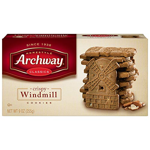 Archway, Original Windmill Cookies, 9oz Package (Pack of 3) by Archway [Foods] (Nicholas St Day Dutch)