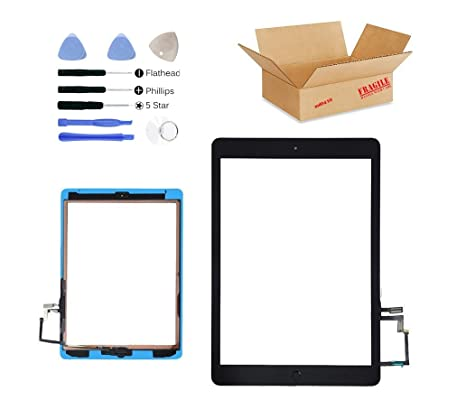 Digitizer Glass Touch Screen Lens Home Key Tools For iPad Air 5//A1474//A1475