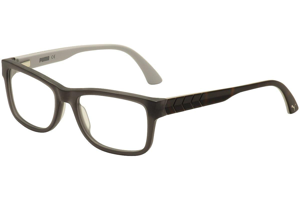 Puma pu0047oメンズ眼鏡フレーム  Grey / Avana B01E6EX39K