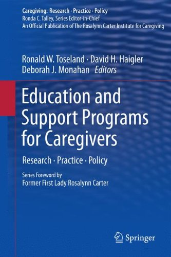 Education and Support Programs for Caregivers: Research, Practice, Policy (Caregiving: Research • Practice • Policy)