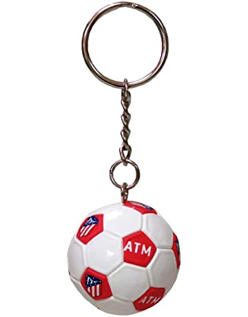 Atletico DE Madrid Llavero Mini Balon: Amazon.es: Juguetes y ...