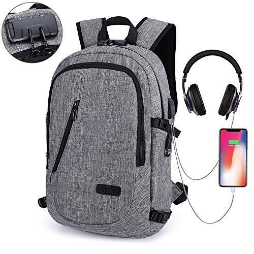 HITOP Laptop Backpack Bookbags, Anti Theft Waterproof