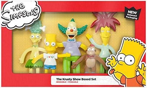 Toys SF 303N NJ Croce The Krusty Show Action Figure NJ Croce