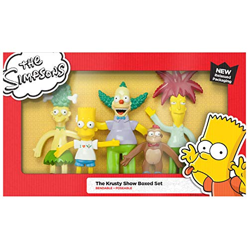 NJ Croce The Krusty Show Action Figure ()