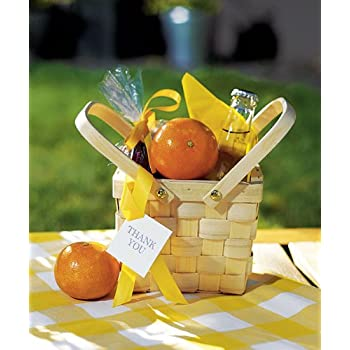 Amazon Com Miniature Woven Picnic Basket W9155 Quantity