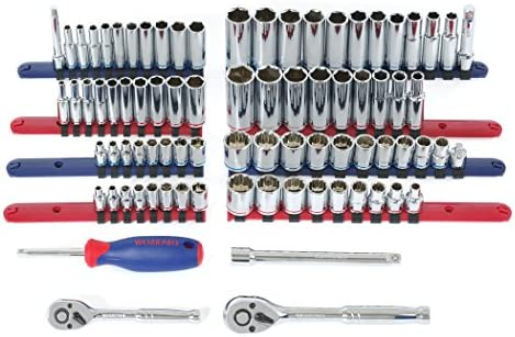 WORKPRO W009037A 322-Piece Home Repair Hand Tool Kit Basic Household Tool Set with Carrying Bag