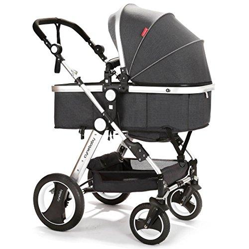 3 Wheel Pram With Toddler Seat - 3