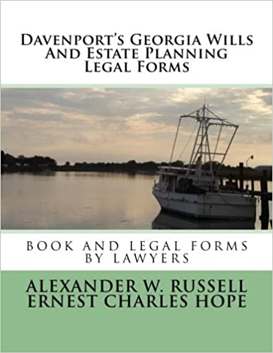 Davenports Georgia Wills And Estate Planning Legal Forms Second - Georgia legal forms