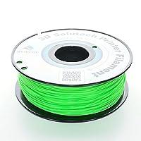 3D Solutech Apple Green 1.75mm ABS 3D Printer Filament 2.2 LBS (1.0KG) - 100% USA by 3D Solutech