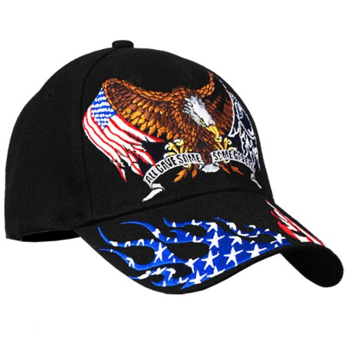 POW/MIA Some Gave All Patriotic Black - Hat American Eagle