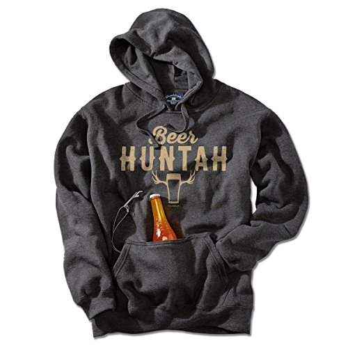 Beer Huntah Tailgater Hoodie by Chowdaheadz - Large