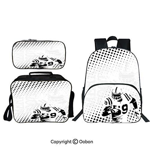 - Oobon Kids Toddler School Waterproof 3D Cartoon 16