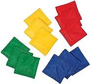 "Franklin Sports 52019X 5 x 5"" Nylon Bean Bags (Set o"