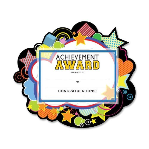 """UPC 083514872073, Southworth Stars """"Achievement"""" Academic Award Kit, Certificates with Embossed Holders, 10 count (MAK-7)"""