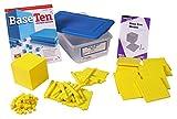 ETA hand2mind Yellow Plastic Base Ten Blocks, Starter Set (Set of 161)