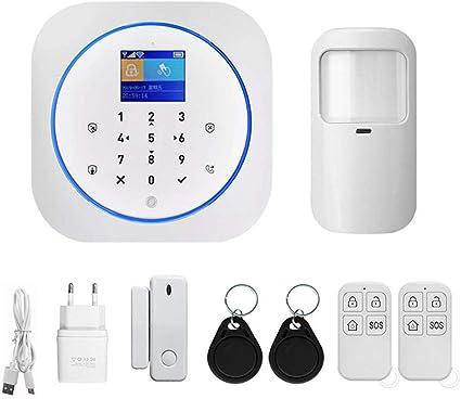 Wifi Sistema de alarma doméstico GSM IOS Android Tuya App ...