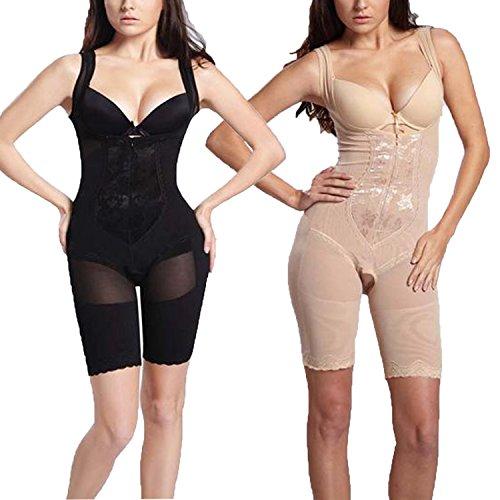 Figura Effetto Libella Pantaloni Formante Nero 3611 beige Ventre 3603 Shapewear Set A Donne Corpetto 2 Pezzi Bodyshorts 5n5A0xr