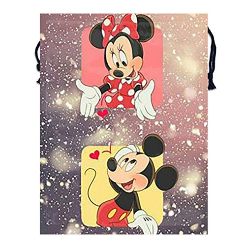 Mickey Mouse Line - LBZSKD Chating Line with Mickey Mouse Drawstring Bag Backpack - Cinch Sacks Bulk Sport Travel Storage Tote Sack Polyester Bags