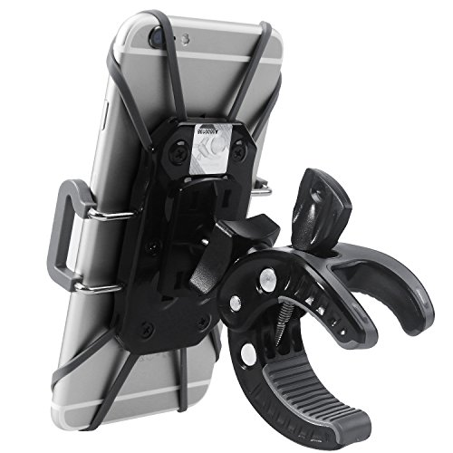 Sahara Sailor Universal Bike Mount Cradle Holder with 360 Degree Rotation for Smartphones - Black