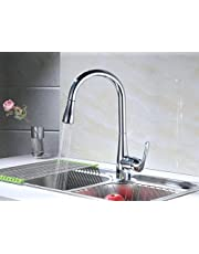 RunFine Group Patented Design Hands Free Sensor 8 inch Deck Kitchen Faucet
