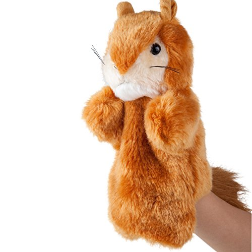 Plush Squirrel Hand Puppets for Kids Hand Puppets
