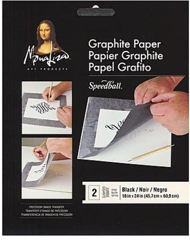Mona Lisa Graphite Paper (Black) 3 pcs sku# 1824973MA