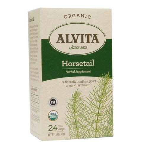 Alvita Organic Tea Bag, Horsetail 24 ea (Pack of 1)