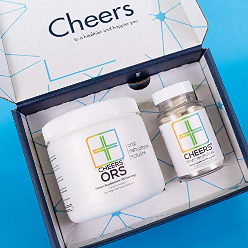 Cheers (Formerly Thrive+) After Alcohol Aid & ORS Combo | for Fast Alcohol Detox & Rehydration Recovery After Drinking Alcohol. Replenish with Our Electrolyte Formula … (Double) by Cheers (Image #3)